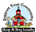 Support Your Community, Shop and Buy Locally